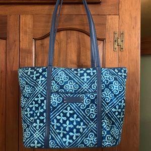 "Vera Bradley ""small Vera tote"". Cuban tile pattern"